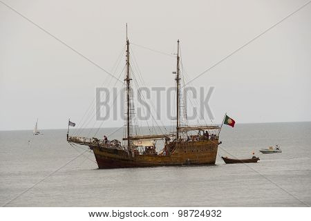 Galleon On The Sea, Touristic Ship
