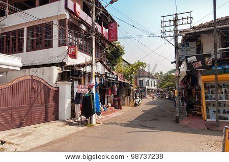 Bastion Street In Fort Kochi