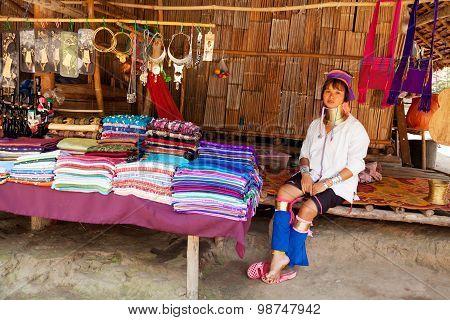 Long Neck Woman, Thailand