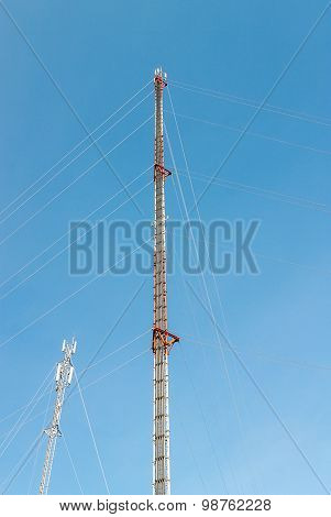 Telecommunication Radio Antenna And Satelite Tower