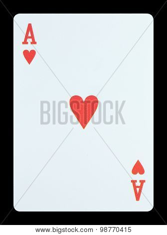 Playing Cards - Ace Of Hearts