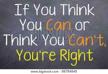 If You Think...