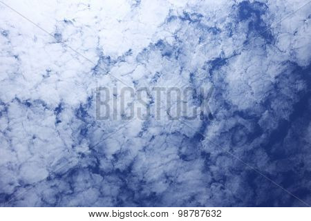 Texture Of Sky With Clounds