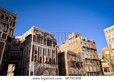 Old Sana'a houses