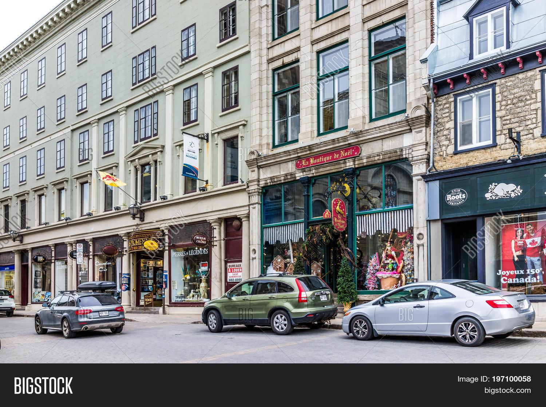 Quebec city canada image photo free trial bigstock