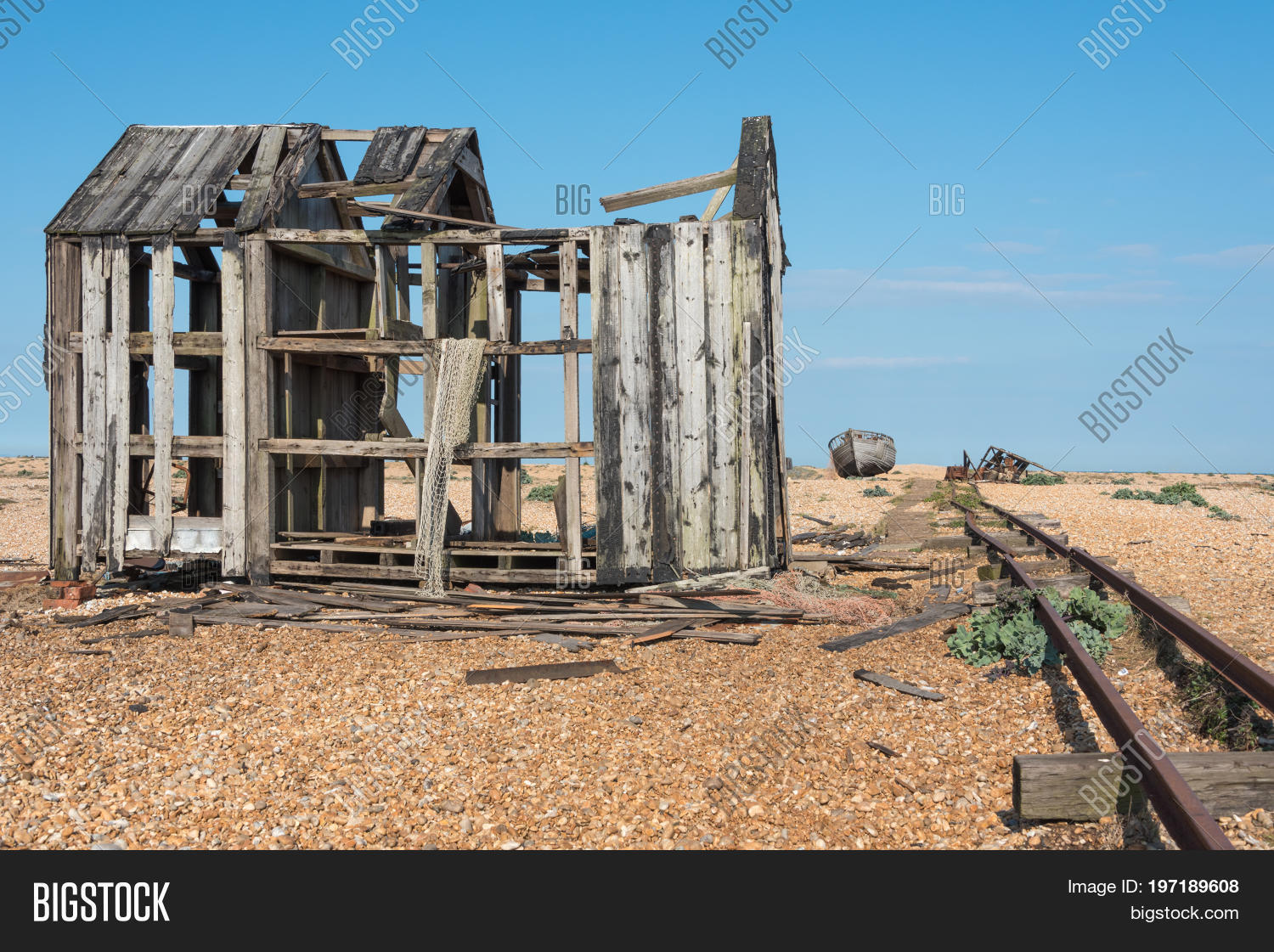 Old Fishing Boat Shed Image Photo Free Trial Bigstock