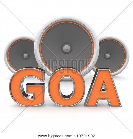 Speakers Goa – Orange