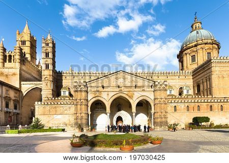 Palermo Cathedral is the cathedral church of the Roman Catholic Archdiocese of Palermo, located in Palermo, Sicily, southern Italy.