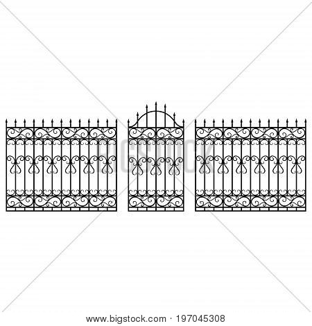 Fence Gate Vector