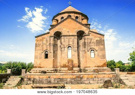 Rear facade of the Church of the Great Martyr Hripsime in Etchmiadzin