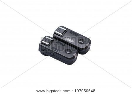 Wireless Trigger Isolated on White Background .