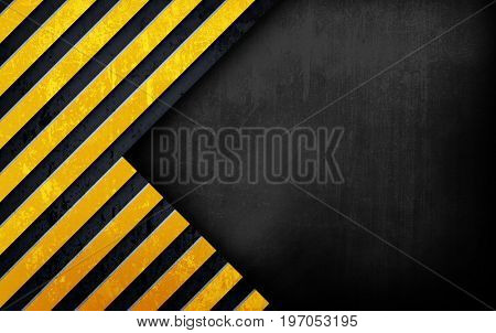 metal template with striped design background