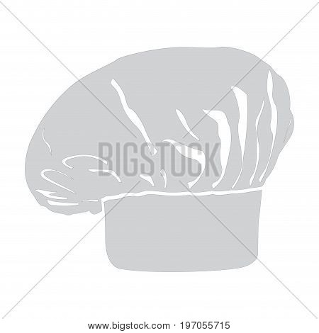 Isolated chef hat on a white background, Vector illustration