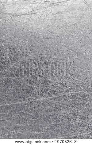 material for reflector background, shiny silver texture