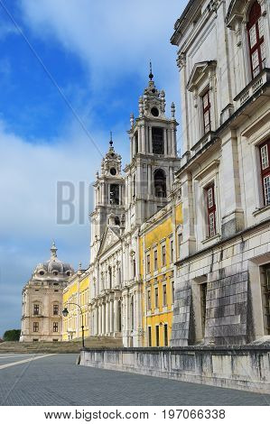 Palace Of Mafra Portugal