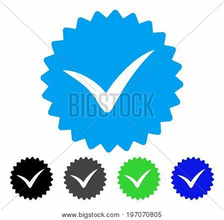 Quality flat vector icon. Colored quality gray, black, blue, green pictogram versions. Flat icon style for web design.