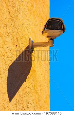 CCTV security camera for outdoor space monitoring