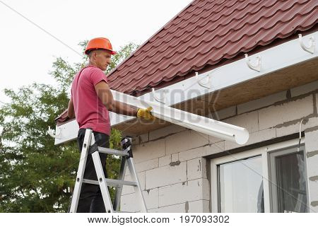 Installation Of Gutter System