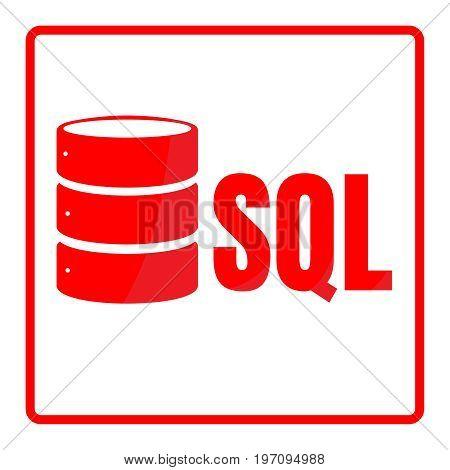 Sql Database Icon Logo Design Ui Or Ux App