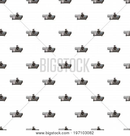 Magnetic resonance tompgraph MRI pattern seamless repeat in cartoon style vector illustration