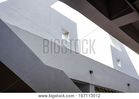 Architecture, building design,pattern of the  building perspective