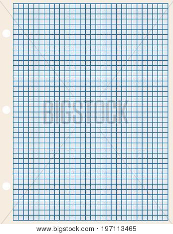 Paper format Letter for industrial use sheet of paper in a cage