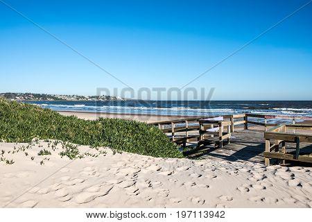 Portezuelo And Salanas Beach Near Punta Del Este, Atlantic Coast, Uruguay