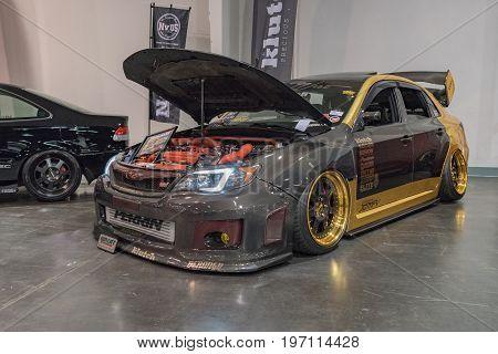 Subaru Wrx Sti On Display