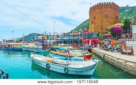 In Old Marina Of Alanya