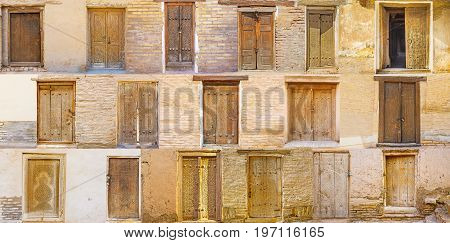 Compilation Of Uzbek Doors