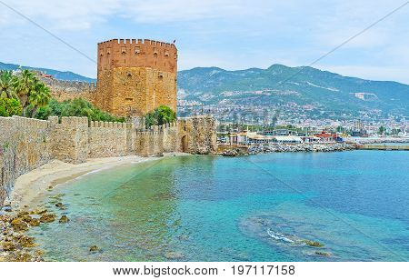 The Medieval Architecture In Alanya
