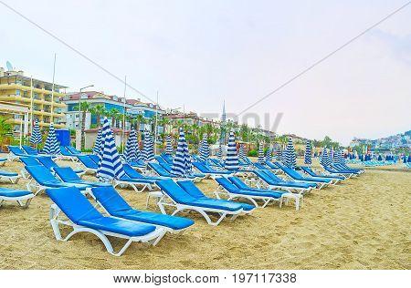 The Comfortable Beach In Alanya