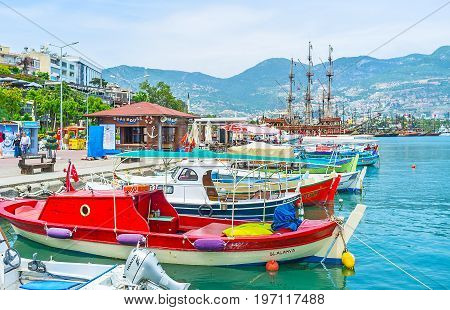 To Hire Boat In Alanya