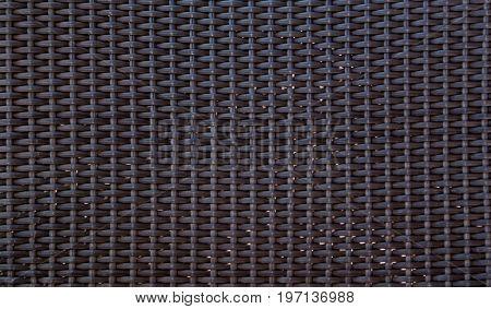 Grey basket weave pattern. Vignette. Textured Background.