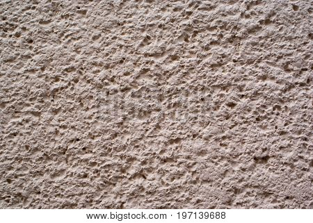 White mortar wall background and texture for graphic design.