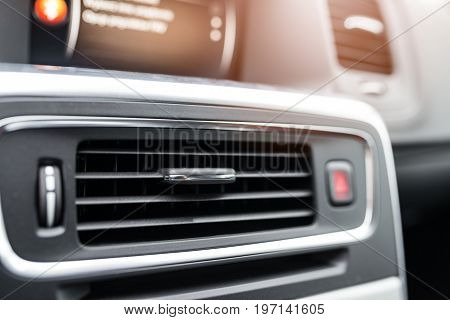 Modern Car Air Condition Vents