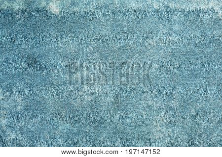 grunge blue surface texture.