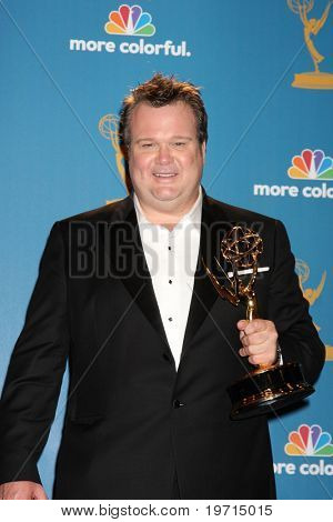 LOS ANGELES - AUG 29:  Eric Stonestreet in the Press Room at the 2010 Emmy Awards at Nokia Theater at LA Live on August 29, 2010 in Los Angeles, CA