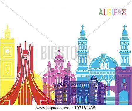 Algiers Skyline Pop