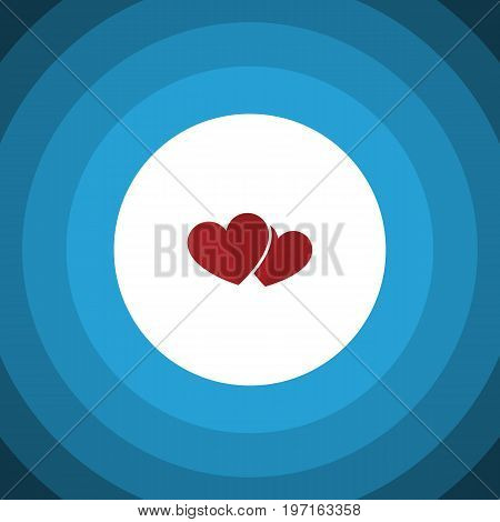Soul Vector Element Can Be Used For Heart, Soul, Love Design Concept.  Isolated Love Flat Icon.
