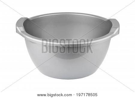 Gray Plastic Basin