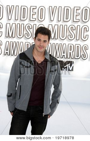 LOS ANGELES - SEP 12:  Jayson Blair arrives at the 2010 MTV Video Music Awards  at Nokia - LA Live on September 12, 2010 in Los Angeles, CA