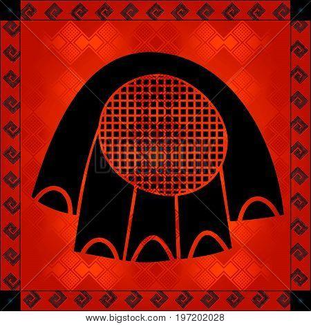 African Cultural Ornaments 179.eps