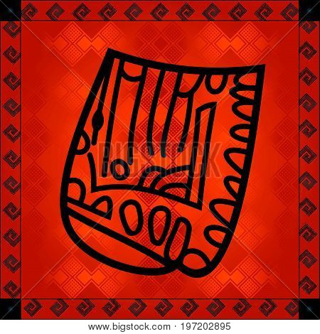 African Cultural Ornaments 210.eps