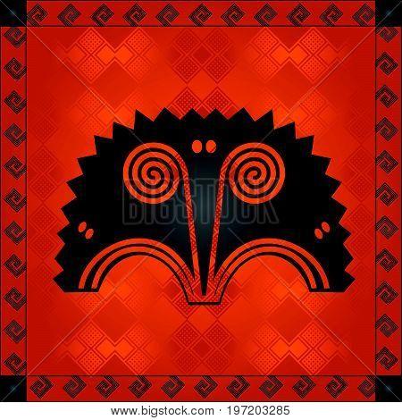 African Cultural Ornaments 220.eps