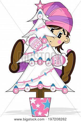 Christmas Tree & Elf