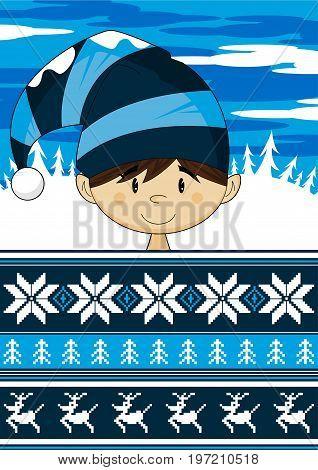 Elf & Christmas Stripe