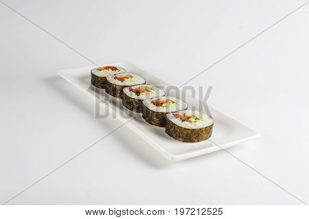Rolls With Vegetables