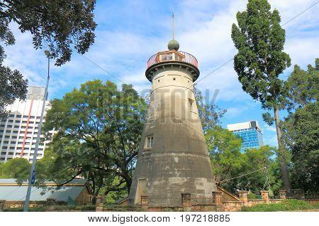 Historical architecture of Old Windmill Observatory Brisbane Australia