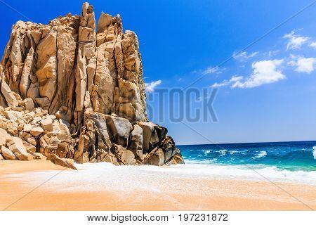 Cabo San Lucas Mexico. Divorce Beach near Cabo San Lucas Mexico.